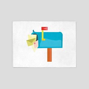Mail Box 5'x7'Area Rug