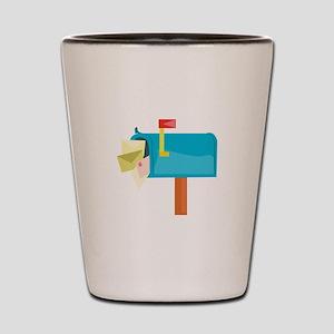 Mail Box Shot Glass