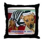 Prisoner Of BSL Throw Pillow