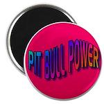 """Pit Bull Power 2.25"""" Magnet (100 pack)"""