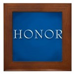 Honor Framed Tile