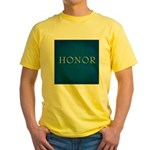 Honor Yellow T-Shirt