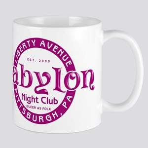 Club Babylon Queer As Folk Mugs