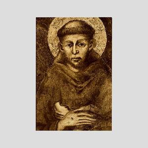 Saint Francis Portrait Rectangle Magnet