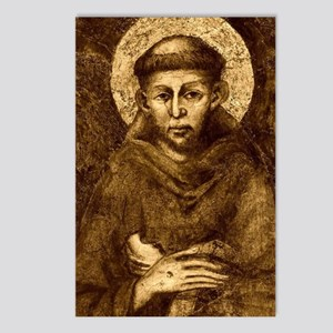 Saint Francis Portrait Postcards (Package of 8)