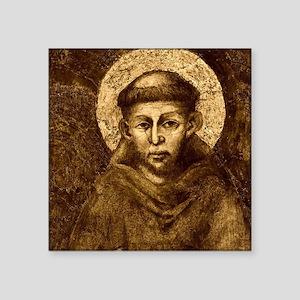 Saint Francis Portrait Sticker