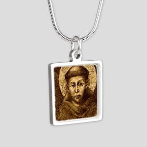 Saint Francis Portrait Necklaces