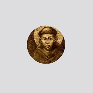 Saint Francis Portrait Mini Button