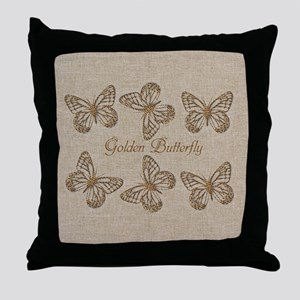 Cute Chic Butterfly Throw Pillow