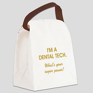 I'M A DENTAL... Canvas Lunch Bag