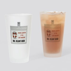 DR. ELLIOT REID Drinking Glass