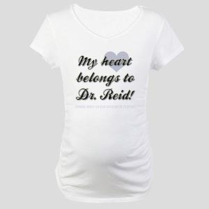 MY HEART BELONGS... Maternity T-Shirt