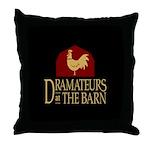 Dramateurs Throw Pillow