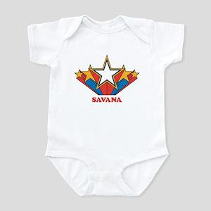 SAVANA superstar Infant Bodysuit