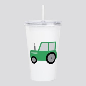 Tractor for Kids Acrylic Double-wall Tumbler