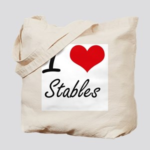 I love Stables Tote Bag