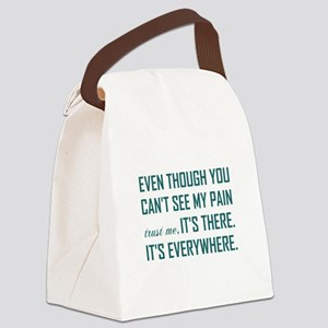 EVEN THOUGH... Canvas Lunch Bag