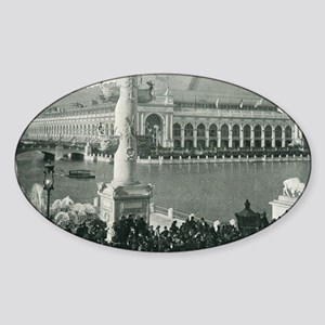 Columbian Exposition Chicago Day Sticker