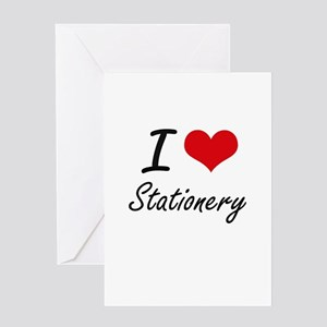 I love Stationery Greeting Cards
