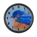 Bluebird Large Wall Clock