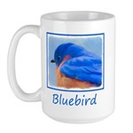 Bluebird 15 oz Ceramic Large Mug