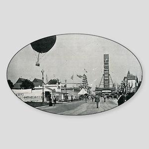 Columbian Exposition- Western Sticker