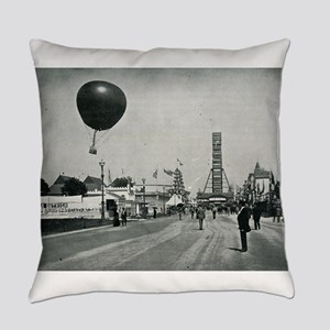 Columbian Exposition- Western Entr Everyday Pillow
