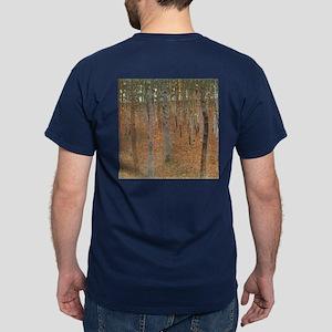 Beech Forest by Klimt Dark T-Shirt
