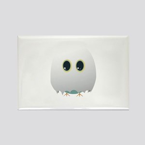Owl in halloween costume Magnets