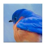 Bluebird Tile Coaster