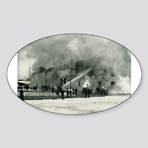Columbian Exposition Cold Storage Fire Sticker