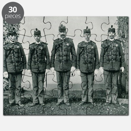 Columbian Exposition Guard Puzzle