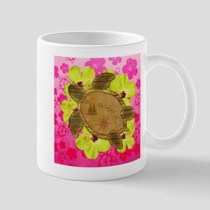 Hawaiian Turtle Map Mugs