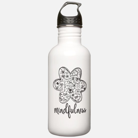 Cute Mindfulness Water Bottle