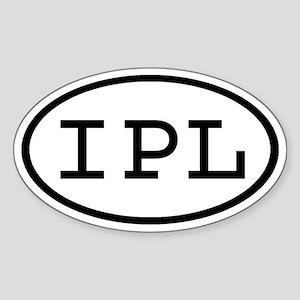 IPL Oval Oval Sticker