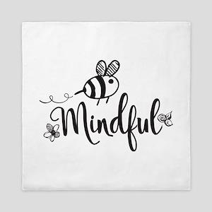 Bee Mindful Queen Duvet