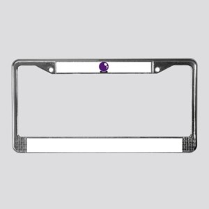 Magic crystal ball License Plate Frame
