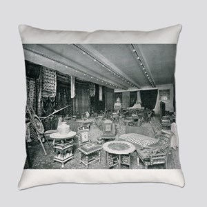 Columbian Exposition- Ceylon Tea R Everyday Pillow