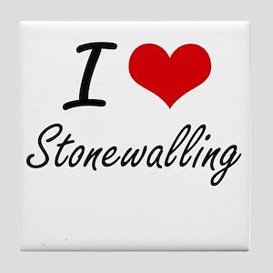 I love Stonewalling Tile Coaster