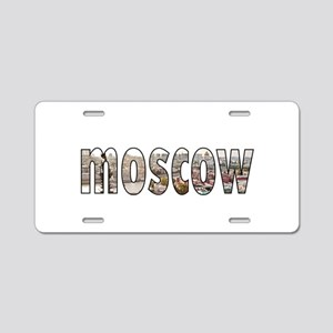 Moscow Aluminum License Plate