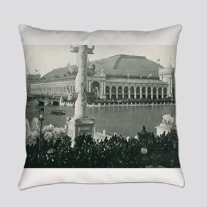 Columbian Exposition Chicago Day Everyday Pillow