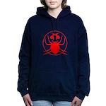 Hail Spider Women's Hooded Sweatshirt