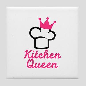 Kitchen queen Tile Coaster