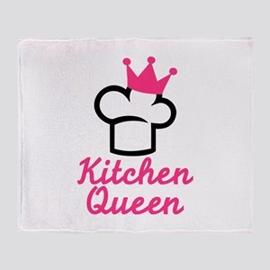 Kitchen queen Throw Blanket