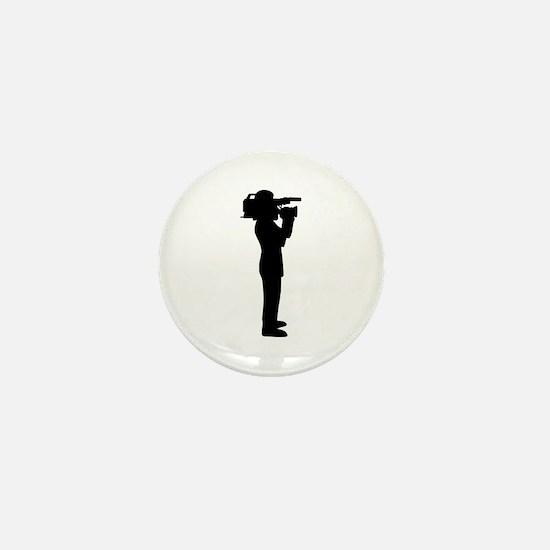 Cameraman Mini Button