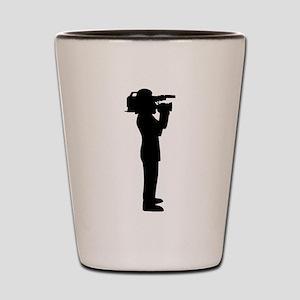 Cameraman Shot Glass