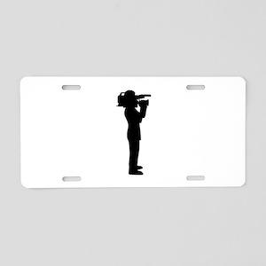 Cameraman Aluminum License Plate