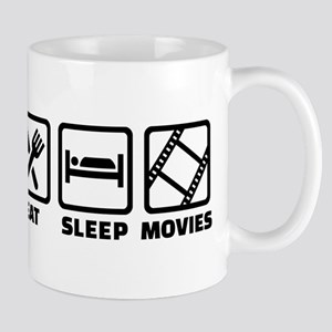 Eat sleep Movies Mug