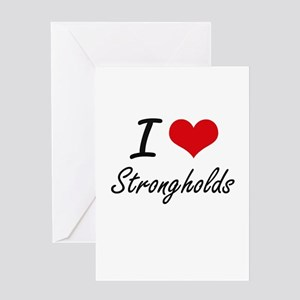 I love Strongholds Greeting Cards