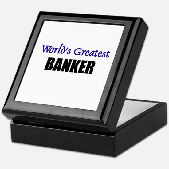 Worlds Greatest BANKER Keepsake Box